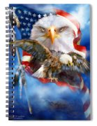 Vision Of Freedom Spiral Notebook