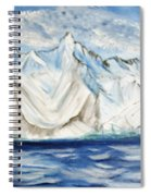 Vision Of Mountain Spiral Notebook
