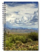 Visions Of Arizona  Spiral Notebook