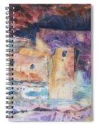 Visions Of Mesa Verde Spiral Notebook