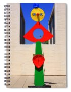 Visions Of Miro Spiral Notebook