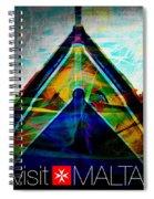 Visit Malta Spiral Notebook