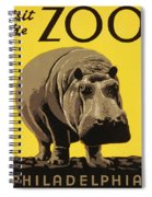 Visit The Philadelphia Zoo Spiral Notebook