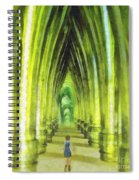 Visiting Emerald City Spiral Notebook