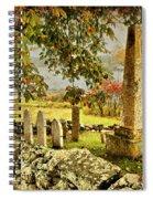 Visiting History Spiral Notebook