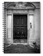 Visiting Spiral Notebook