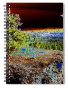Visiting Rimrock In Spokane Spiral Notebook