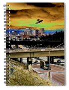 Visiting Spokane Spiral Notebook