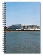 Visitors At Old Georgetown Waterfront Spiral Notebook