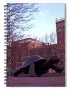 Visitors - Copley Square Spiral Notebook