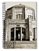 Vista House - Sepia Spiral Notebook