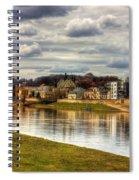 Vistula River In Cracow Spiral Notebook