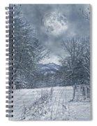Visual Quiet Spiral Notebook