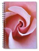 Vivacious Pink Rose 5 Spiral Notebook
