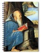 Vivarini's Saint Jerome Reading Spiral Notebook