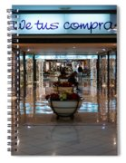 Vive Tus Compras Spiral Notebook