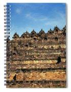 Vivid Borobudur Spiral Notebook