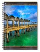 Vivid Calm Spiral Notebook