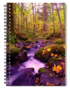 Vivid Green Spiral Notebook