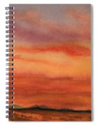 Vivid Sunset Spiral Notebook
