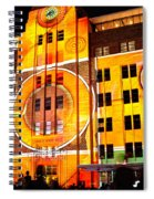 Vivid Sydney 2014 - Museum Of Contemporary Arts 2 By Kaye Menner Spiral Notebook
