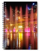 Vivid Sydney By Kaye Menner -  Vivid Aquatique  Spiral Notebook