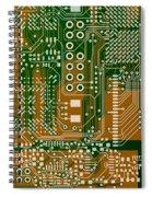 Vo96 Circuit 3 Spiral Notebook