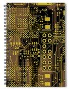 Vo96 Circuit 5 Spiral Notebook