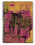 Vo96 Circuit 8 Spiral Notebook