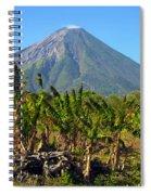 Volcan Concepcion Nicaragua Spiral Notebook