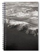 Volcano Ash Iceland Spiral Notebook