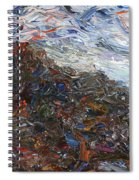 Volcano Spiral Notebook