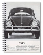 Volkswagen Beetle Spiral Notebook