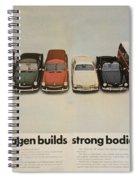 Volkswagen Body Facts Spiral Notebook