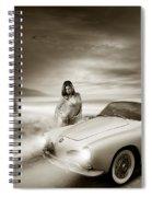 Volkswagen Karmann Ghia Spiral Notebook