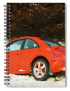 Volkswagen Snow Day Spiral Notebook