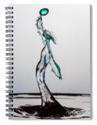 Volleyball Splash Spiral Notebook