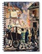Volunteer Firefighters Spiral Notebook