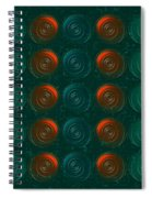 Vortices Spiral Notebook