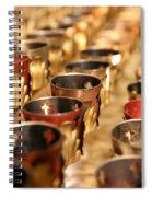Votive Candles Spiral Notebook
