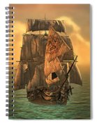 The Voyage Of The Dawn Treader Spiral Notebook