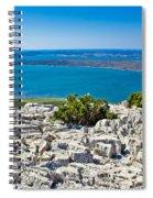 Vransko Lake And Kornati Islands Spiral Notebook