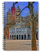 Vrijthof Square Spiral Notebook