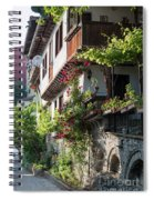 V. Turnovo Old City Street View - Bulgaria Spiral Notebook