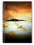 Vulcan Fire  Spiral Notebook