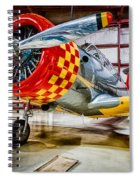 Vultee Valiant Spiral Notebook