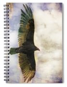 Vulture In Color Spiral Notebook