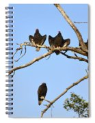 Vulture Tree Full Of Buzzards Spiral Notebook