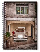 Vw Beetle Painting Spiral Notebook