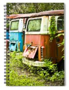 Vw Buses Spiral Notebook